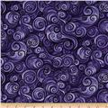 Nite Owls Swirls Purple