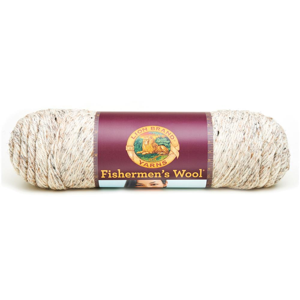 Lion Brand Fisherman's Wool Yarn (202) Birch Tweed