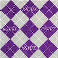 Collegiate Fleece Kansas State Argyle