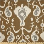 UO-045 Magnolia Home Fashions Java Ikat Umber