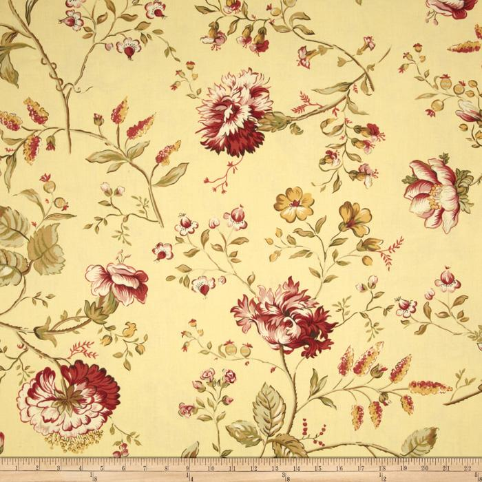 Golding Fabrics Colleen Yellow