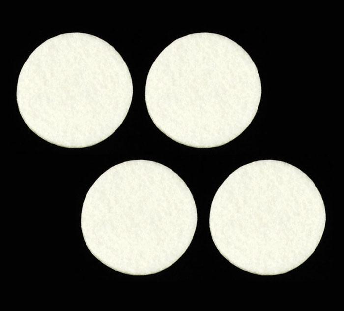 Craft Felt Circle Pack 2&quot; White