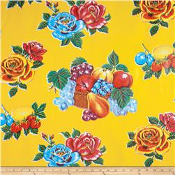 Oil Cloth Limones Yellow