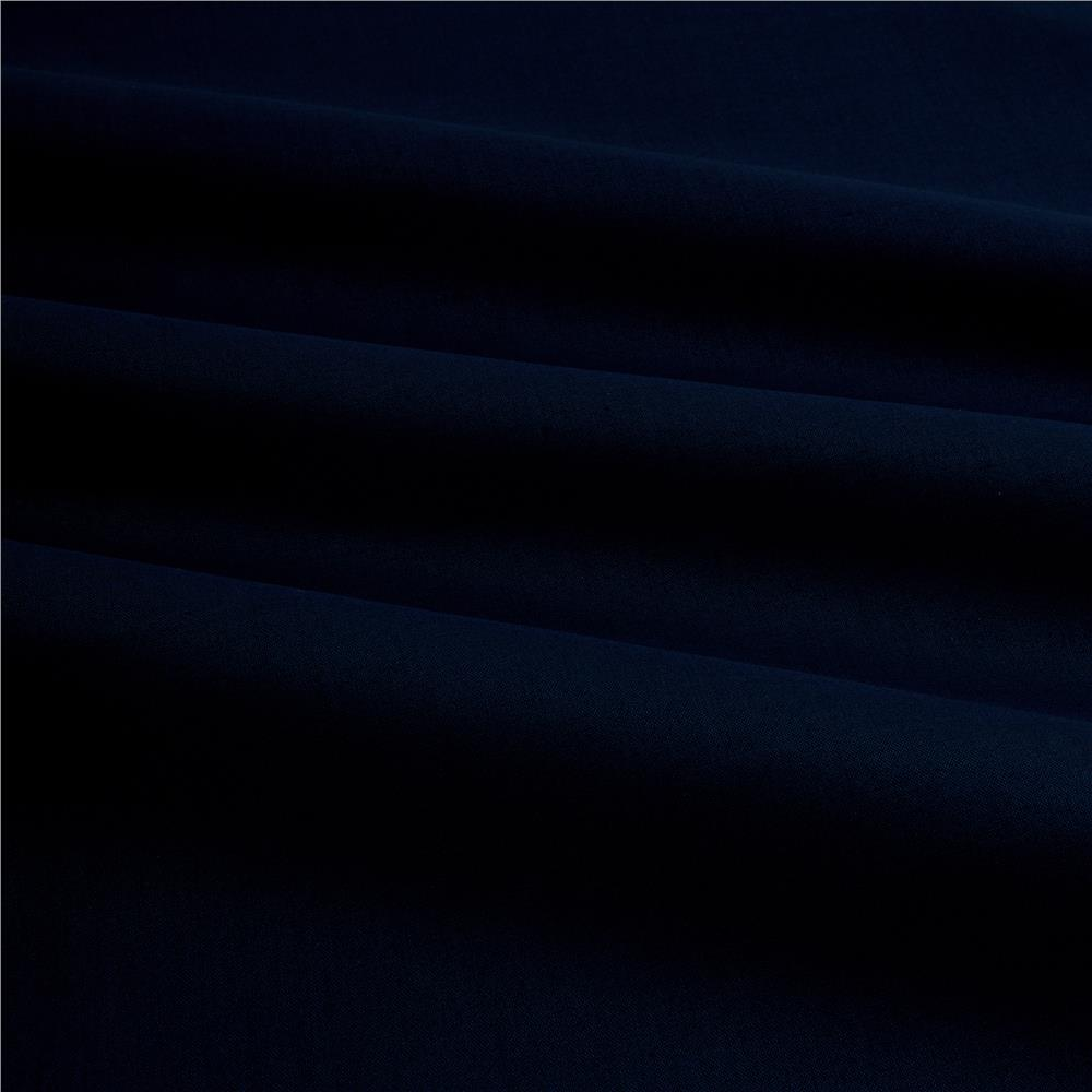 Cotton Broadcloth Navy