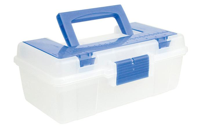 Creative Options Craft Tool Box Clear