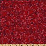 FN-497 Tonal Scroll Red