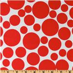 Pocket Full Of Posies Bubbles Red