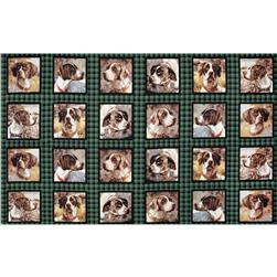 Wild Wings Point North Irish Setter Block