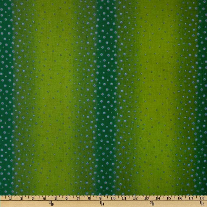 Photochrome Petals Dots Ombre Linear Dots Green