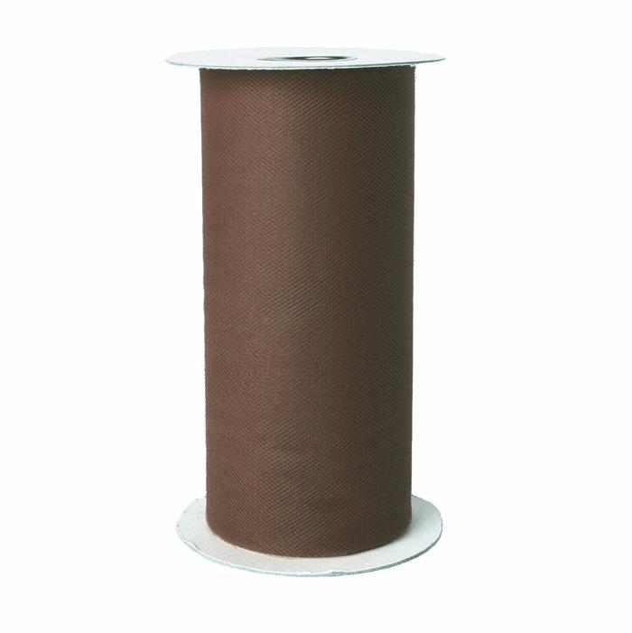 Tulle Spool Brown