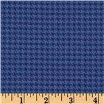 Designer Essentials Designer Houndstooth Hot House Blue