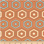 0289147 Bella Hexagons Orange