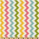FT-374 Riley Blake Chevron Small Pink/Girl
