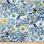Folklorico Talavera Garden Blue/White/Yellow