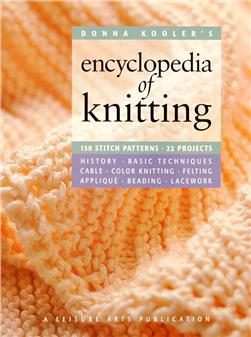 "Leisure Arts ""Donna Kooler's Encyclopedia of Knitting"" Book"