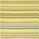 Chevron Flannel Yellow