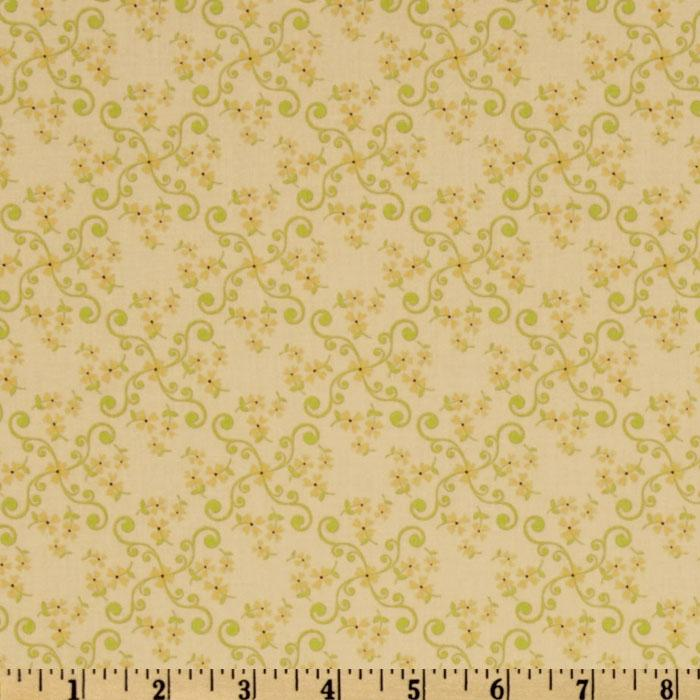 Vintage Baby Flower Yellow