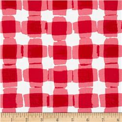 Kanvas Mad For Melon Mod Gingham Pink