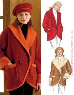 Kwik Sew Misses Jacket & Hat Pattern