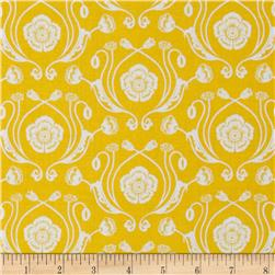 Poppy Patio Damask Yellow
