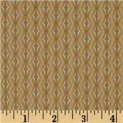Cottage Chic Geo Stripe Coffee