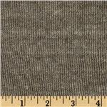 Designer Double Cloth French Terry Knit Grey