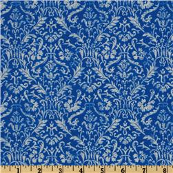 Mandi Renaissance Scroll Blue