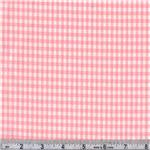 AM-049 Woven 1/8&#39;&#39; Cotton Gingham Pink
