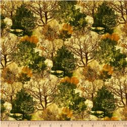 Shades of the Season 6 Metallic Autumn Trees Autumn Natural