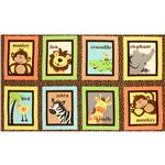 EI-634 Safari Tots Animal Block Brown