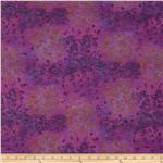 Onion Skin Knit Floral Purple