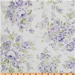 Treasures by Shabby Chic Wildflowers Large Floral Lilac
