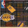 NBA Fleece LA Lakers Purple