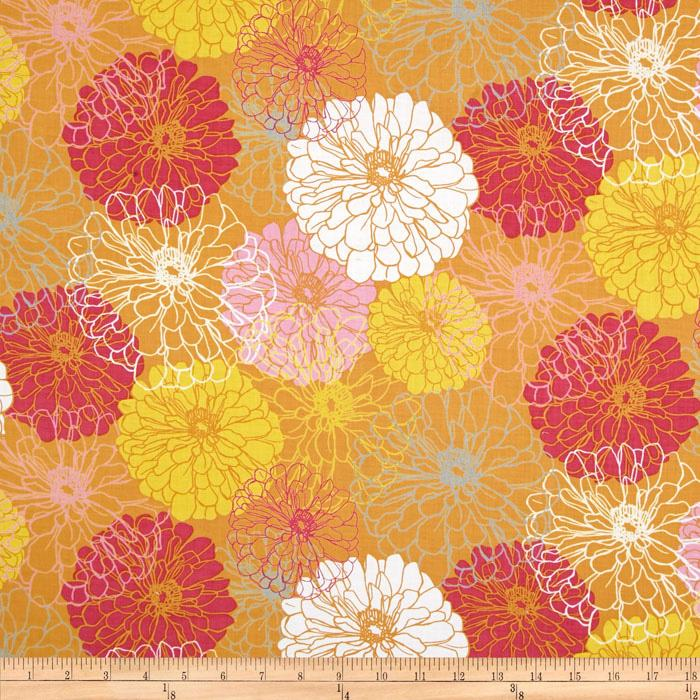 Blomma Large Floral Orange