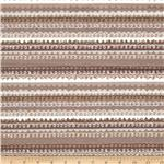 Blooming Lovely Scribble Stripe Taupe
