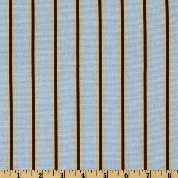 Premier Prints Trey Stripe Mist/Putty
