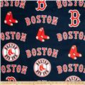 MLB Fleece Boston Red Sox Toss White/Red