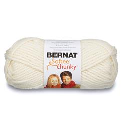 Bernat Softee Chunky Yarn (28008) Natural