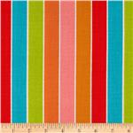 0270412 Michael Miller Textured Basics Shoreline Stripe Multi