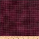 0278446 Grid Stripes Burgundy