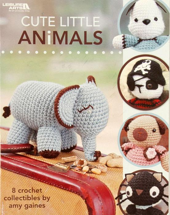 "Leisure Arts ""Cute Little Animals"" Crochet Book"
