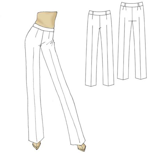 Hot Patterns Plain &amp; Simple Everyday Pants Pattern