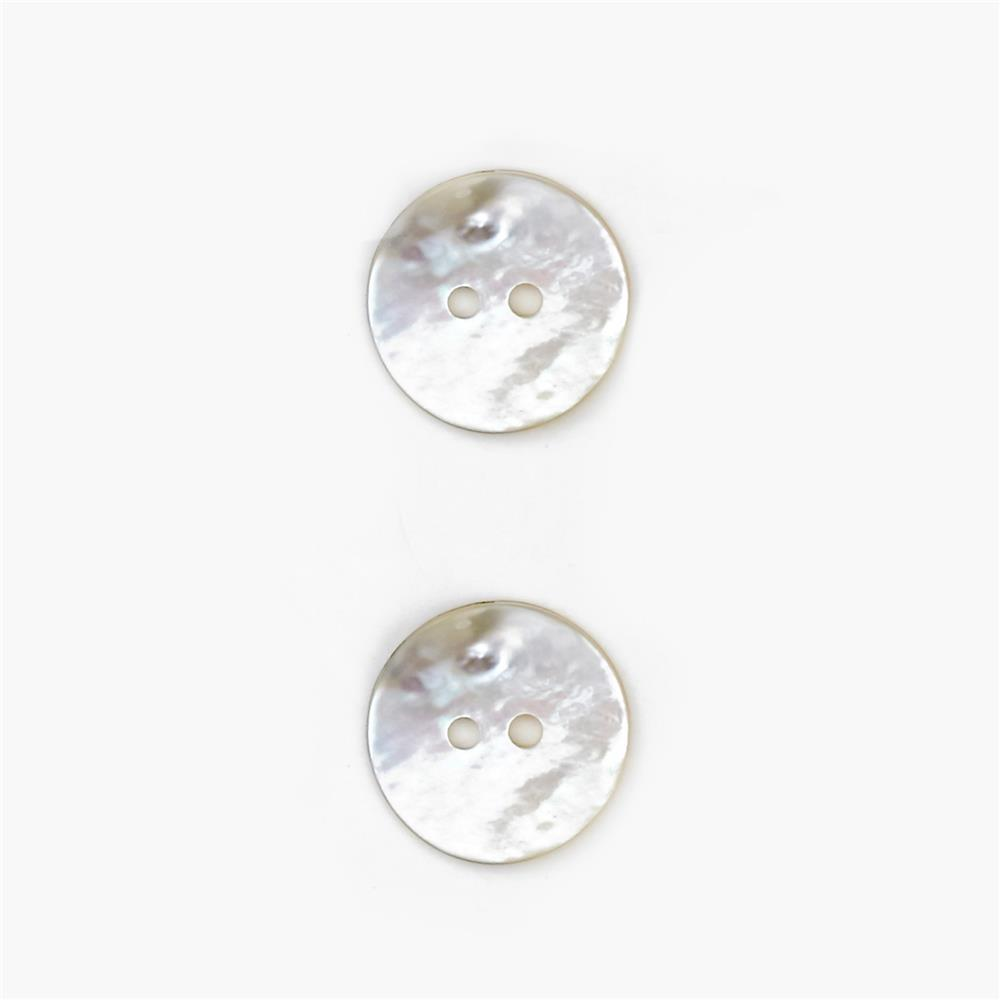 5/8'' Mother of Pearl Buttons White