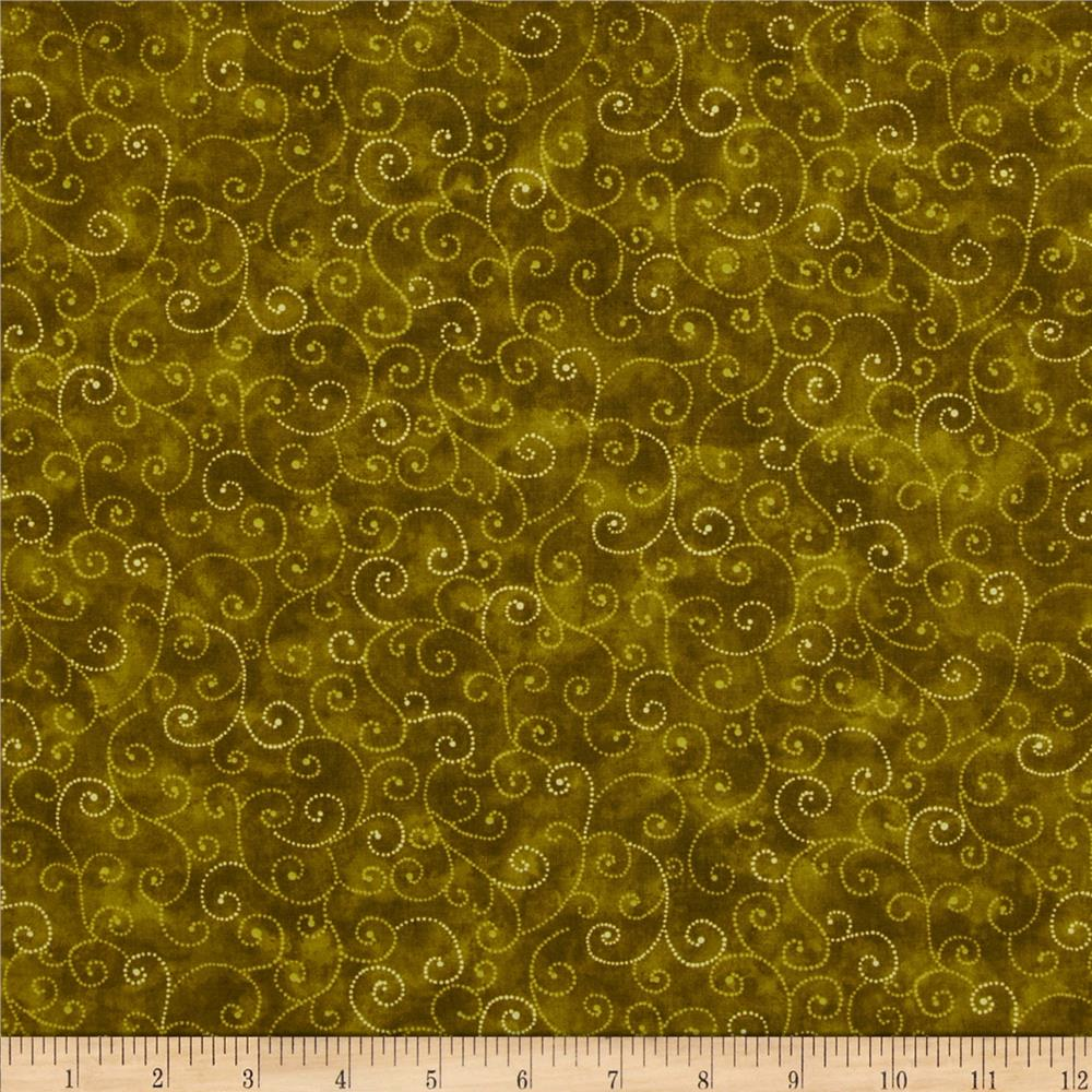 Moda Marble Swirls (9908-92) Avocado