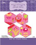 "Sizzix Bigz Die 2 1/2"" Hexagons"