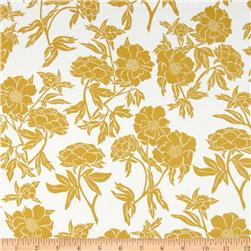 Valori Wells Novella Cotton Sateen Peony Gold