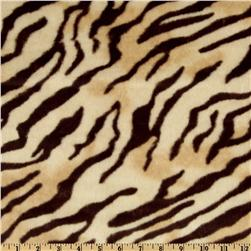 Faux Fur African Tiger Beige/Brown