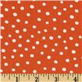 Moda ABC Menagerie Bubble Dots Tangerine
