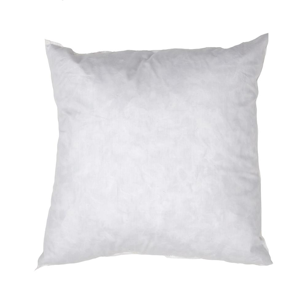 14'' x 14'' Feather/Down Pillow Form White