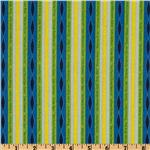 EP-768 Circle Of Life Stripes Lime/Blue